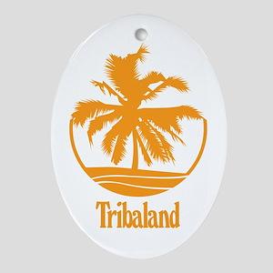 Tribaland - Oval Ornament