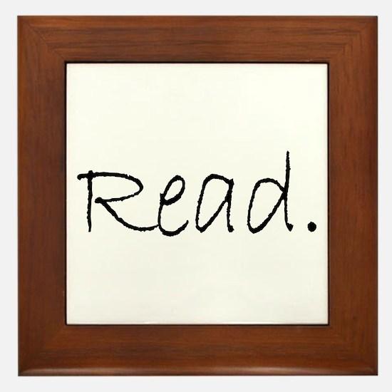 Read (Ver 4) Framed Tile