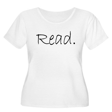 Read (Ver 4) Women's Plus Size Scoop Neck T-Shirt