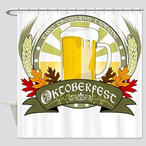 Oktoberfest 2012 Shower Curtain