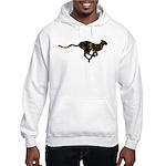 Leopard Hooded Sweatshirt