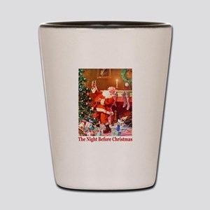 It Was The Night Before Christmas Shot Glass