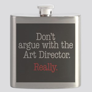 Don't argue with the Art Director. Flask