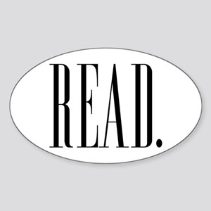 Read (Ver 1) Sticker (Oval)