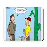 Scout Gardening Mousepad