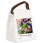 Cup of Life Canvas Lunch Bag