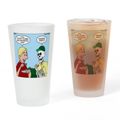 Dehydrated Food Drinking Glass