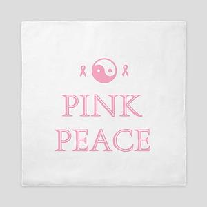 Pink Peace Queen Duvet