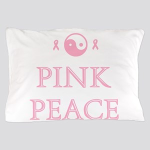 Pink Peace Pillow Case