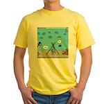 Jellyfish SCUBA Yellow T-Shirt