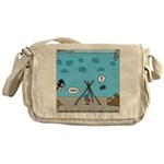 Jellyfish SCUBA Messenger Bag