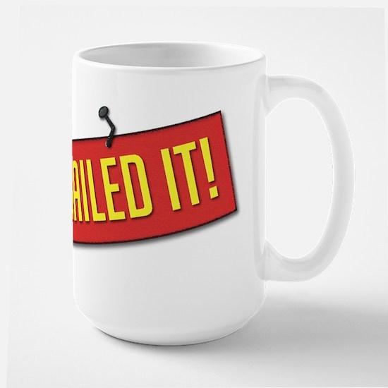 Nailed It! Large Mug