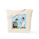Backpack Overpack Tote Bag