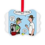 Backpack Overpack Picture Ornament