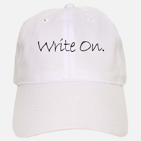 Write On (Ver 4) Baseball Baseball Cap