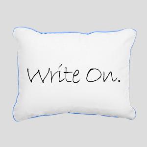 Write On (Ver 4) Rectangular Canvas Pillow