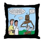 Scout Robot Throw Pillow