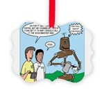 Scout Robot Picture Ornament
