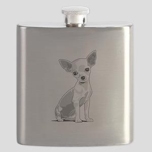 chihuahua Flask
