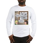 Canoe Portage in the Wind Long Sleeve T-Shirt