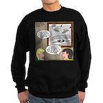 Canoe Portage in the Wind Sweatshirt (dark)