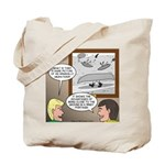 Canoe Portage in the Wind Tote Bag