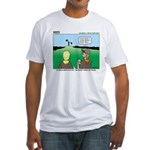 Semaphore Warning Fitted T-Shirt