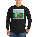 Semaphore Warning Long Sleeve Dark T-Shirt
