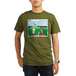 Semaphore Warning Organic Men's T-Shirt (dark)