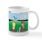 Semaphore Warning Mug