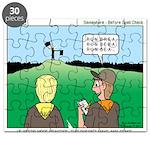 Semaphore Warning Puzzle