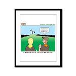 Semaphore Warning Framed Panel Print