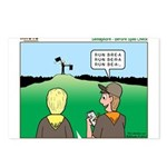 Semaphore Warning Postcards (Package of 8)