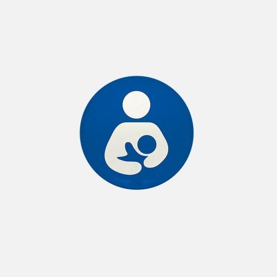 Brestfeeding Icon Mini Button