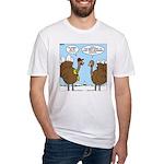 Talking Turkey Fitted T-Shirt