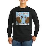 Talking Turkey Long Sleeve Dark T-Shirt