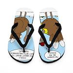 Talking Turkey Flip Flops