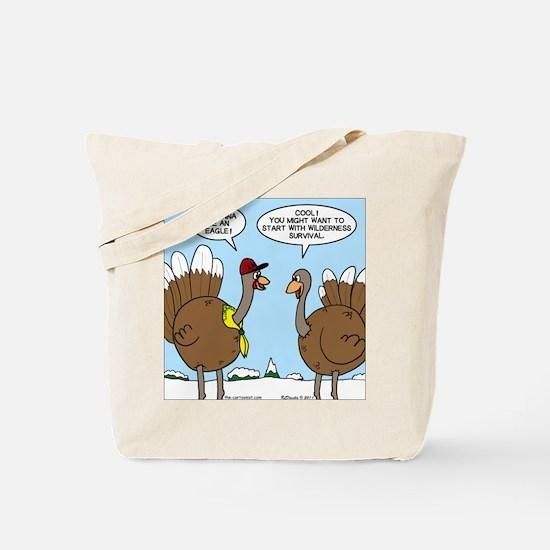 Talking Turkey Tote Bag