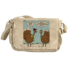 Talking Turkey Messenger Bag