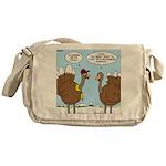 Talking Turkey Messenger Bag