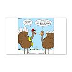 Talking Turkey 20x12 Wall Decal