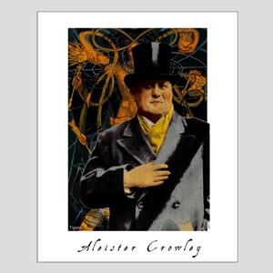 Aleister Crowley Small Poster