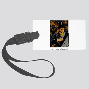 Aleister Crowley Large Luggage Tag