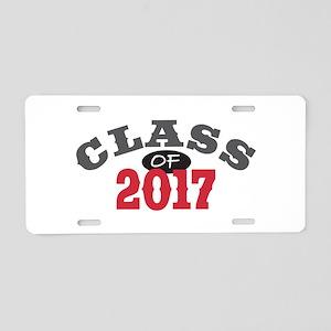 Class of 2017 Aluminum License Plate