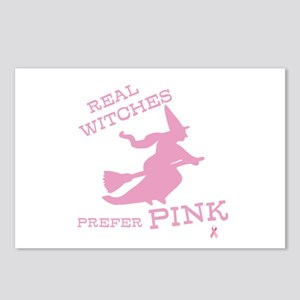 Pink Witch Postcards (Package of 8)