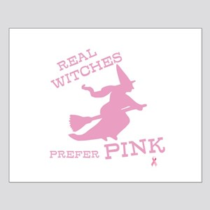 Pink Witch Small Poster