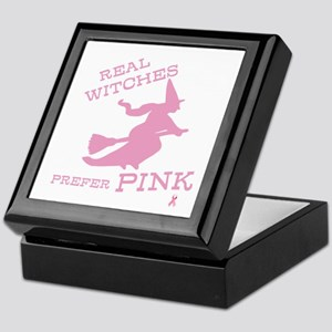 Pink Witch Keepsake Box