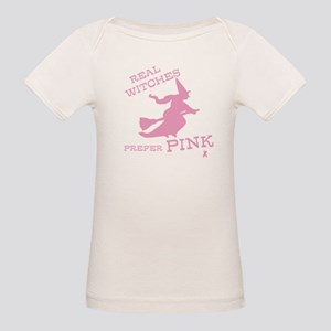 Pink Witch Organic Baby T-Shirt