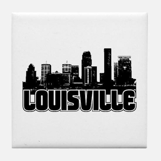 Louisville Skyline Tile Coaster