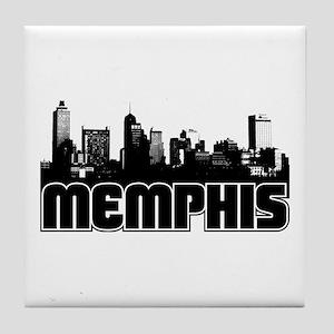 Memphis Skyline Tile Coaster